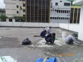 Case Study : WaterProofing Coating Deck Floor 2