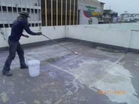 Case Study : WaterProofing Coating Deck Floor 4