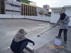 Case Study : WaterProofing Coating Deck Floor 5