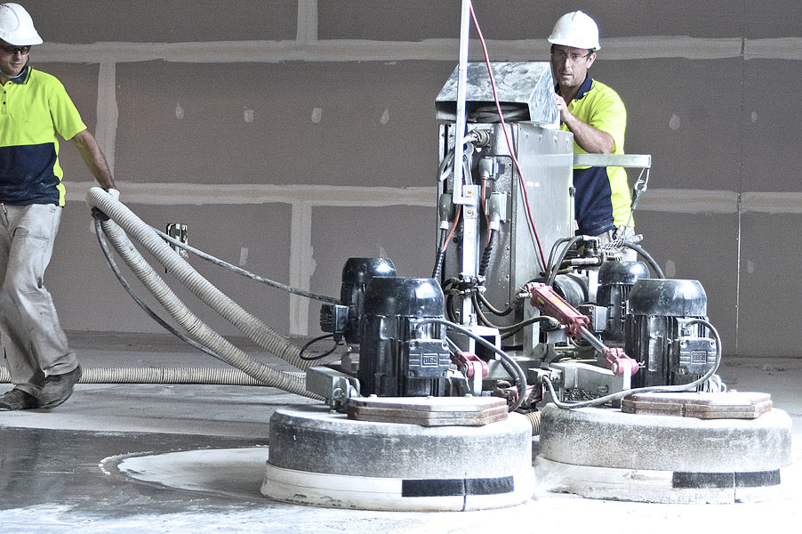 Concrete Coating Process 3